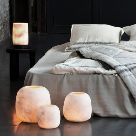 Bordslampa Alabaster, Sirocco Living