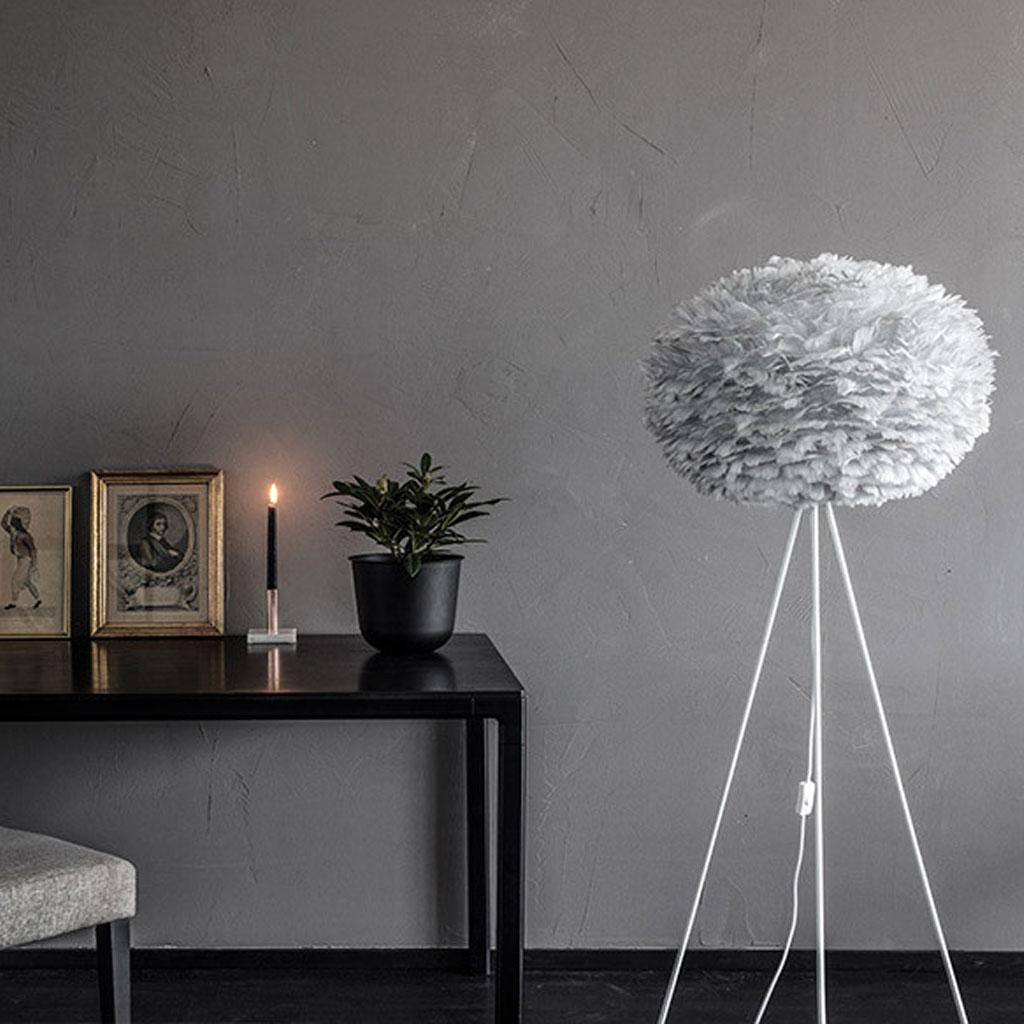 fj derlampa eos vita large light grey belysning. Black Bedroom Furniture Sets. Home Design Ideas