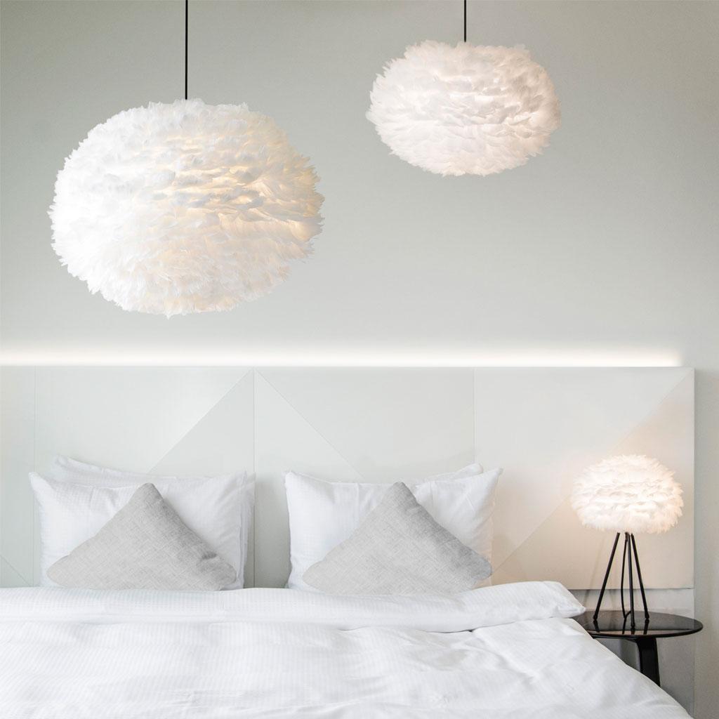 fj derlampa eos vita large vit nyheter inredning. Black Bedroom Furniture Sets. Home Design Ideas