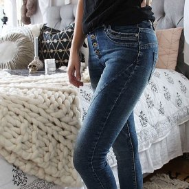 Perfect Jeans, DarkdenimWashed, agency M