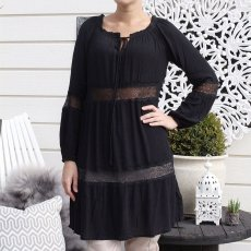 Drew Dress Black, Capri Collection