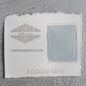 Kalklitir - Kalkfärg - Antique Blue