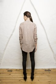 Frances Blouse Black Dot, Vintage by Fé