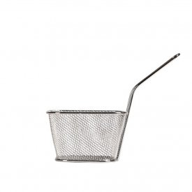 French Fries Holder Silver