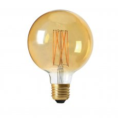 Glödlampa Led Filament Globe 95mm, GOLD, Pr Home