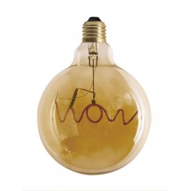 Glödlampa Words Wow, Hanging, Pr Home