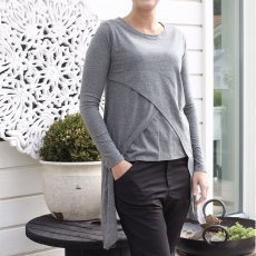 Madison Tunic Grey Melange, Capri Collection