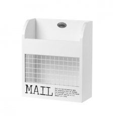 Mailbox Mail White 23cm Riveldale