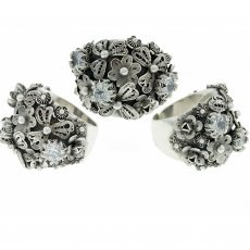 Multi Flower Ring, R3529, Yvone Christa New York