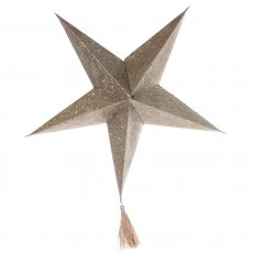 Paper Star Betlehem, 46 cm diameter, On Interiör