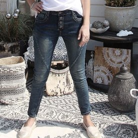 Perfect jeans, dark denim, Agency M