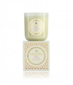 Voluspa Doftljus Pink Citron, Boxed Candle 100h