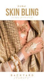Skin Bling, dubai, Skin Jewellery, Backyards Studios