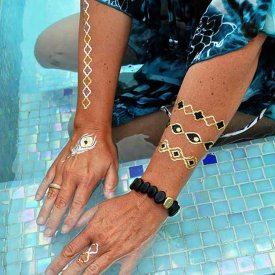 Skin Bling, Miami, Skin Jewellery, Backyards Studios