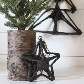 Star Ornament, Jute, Small, Natur, Madam Stoltz