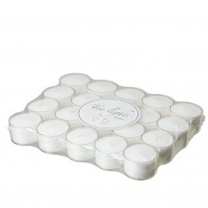 20-pack stearinljus tea lights affari