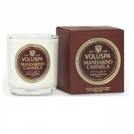 Voluspa Doftljus, Boxed Votive Candle, , Maison Rouge , Mandarino Cannela