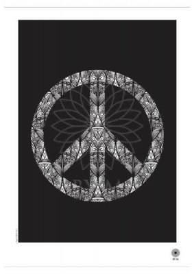 Peace Poster, 50x70 cm