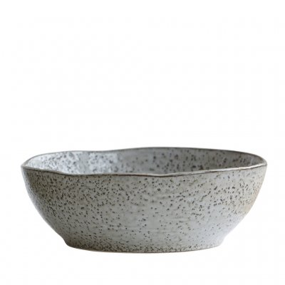 Bowl Rustic, Grey/Blue, House Doctor
