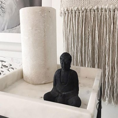 Buddha Black Stone, Mini
