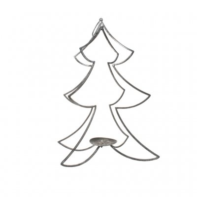Christmas Tree, Metall, Silver, Cozy Room/Sika Design