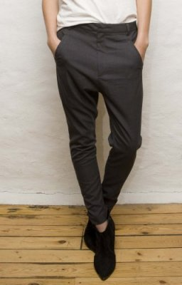 Fella Trousers Antracite, Vintage by Fe