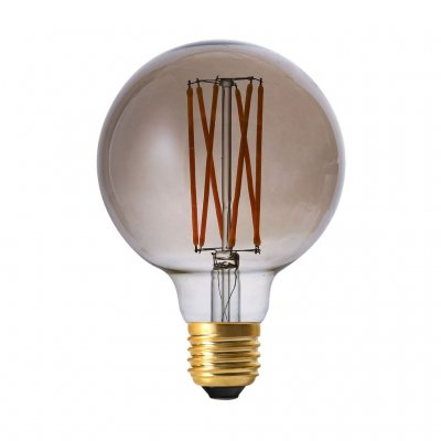 Elect LED Filament, Globe Smoke Pr Home