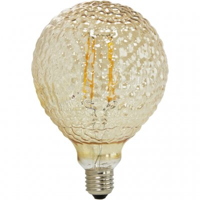 Glödlampa Elegance LED, Glamour, 125mm, GOLD