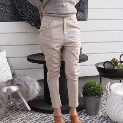 Joanna Trousers Sand, Vintage by Fé