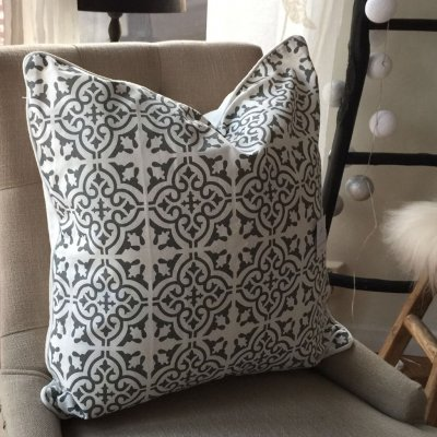 Kuddfodral Marrakesh Grey