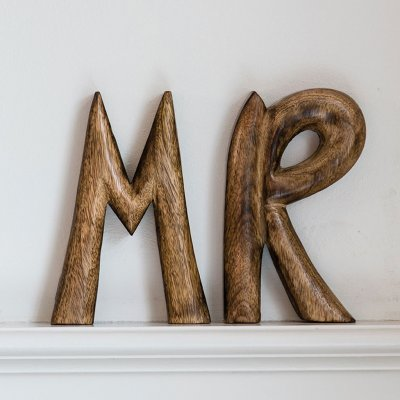 Mr Wooden Sign, Riviera Maison