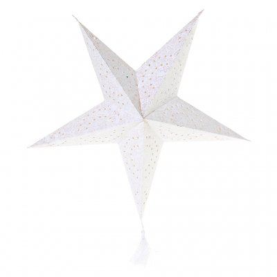 Paper Star Betlehem, White 72 cm diameter, On Interiör