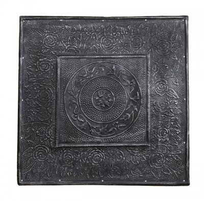 Phil Black Tile, Plåtkakel, Metall
