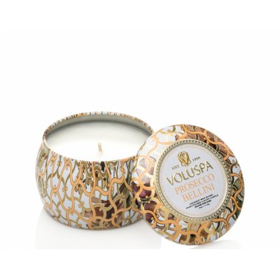 Prosecco Bellini Dec Tin Voluspa doftljust