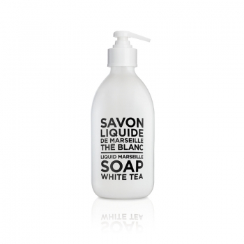 Savon de Marseille, Flytande tvål i glasflaska, White Tea 300 ml