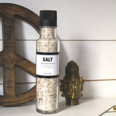 Salt, The secret blend Nicholas Vahé