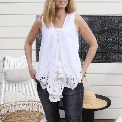 Lace Tank Top, Sixty Days