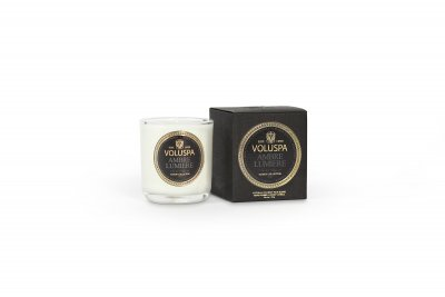 Doftljus Ambre Lumiere, Boxed Votive Candle 25 h, Voluspa