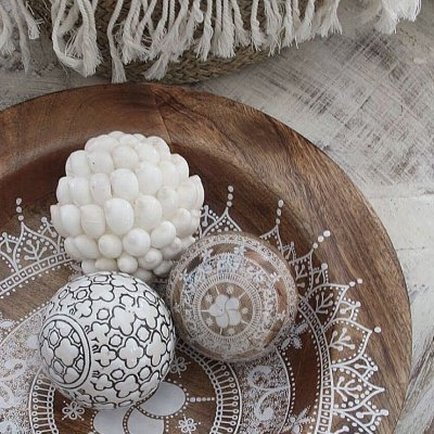 Wood Ball, Mandala, Cozy Room, Sika Design
