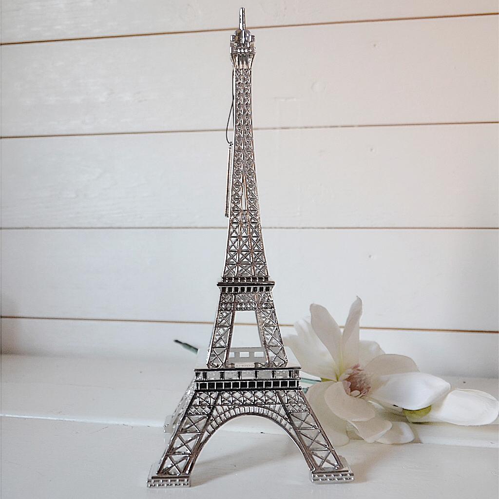 Eiffeltorn Silver L Originale Silver F 214 Rhandsboka Inredning Jbhome Se
