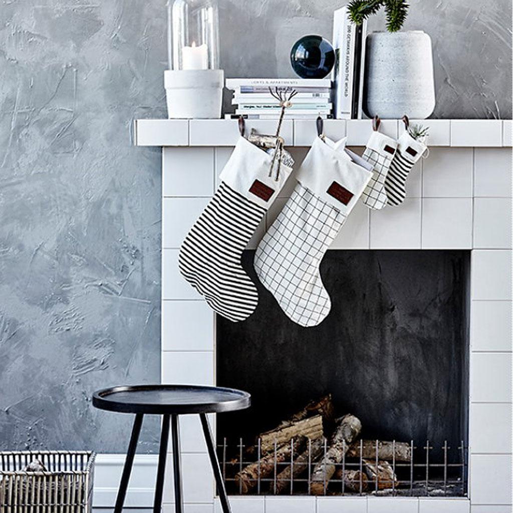 julstrumpa stockings christmas house doctor inredning. Black Bedroom Furniture Sets. Home Design Ideas