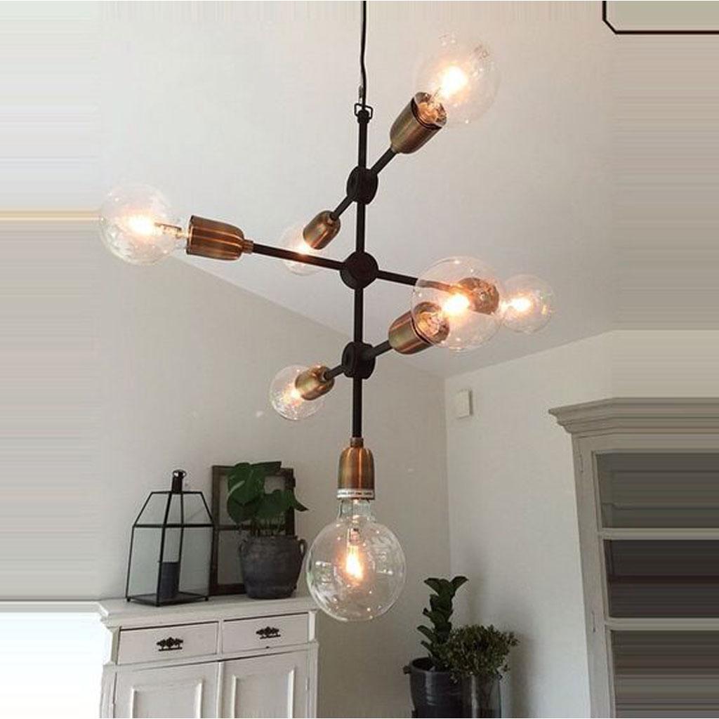 Home Decor Ceiling Lights Lampa Molecular 7 Ljus House Doctor Belysning Jbhome Se